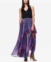 Free People True To You Printed Maxi Skirt