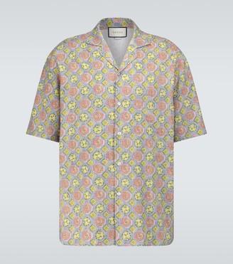 Gucci Hawaii bowling shirt