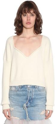 Unravel Cotton & Cashmere Knit Sweater