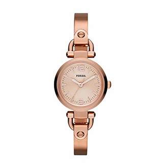 Fossil Women's Georgia Mini Quartz Stainless Steel Dress Watch