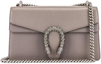 Gucci Dionysus Shoulder Bag in Dusty Grey & Black Diamond | FWRD