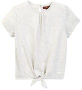 7 For All Mankind Tie Front Top (Big Girls)