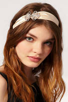 Blakegodbold Satin And Crystal Headband