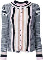 Missoni striped two piece set - women - Nylon/Wool - 40