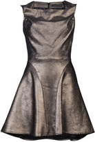 Plein Sud Jeans Short metallic dress