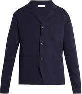 Boglioli Single-breasted cotton-blend jacket