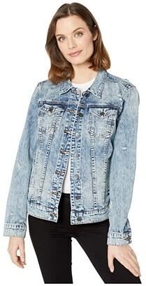 KUT from the Kloth Emma Boyfriend Jacket (Glimmer) Women's Clothing