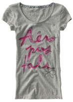 Aeropostale Stacked Logo Graphic Sleep Tee