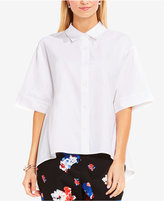 Vince Camuto Oversized High-Low Blouse