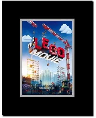 Lego The Movie Framed Movie Poster