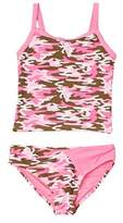 YMI Jeanswear Girls' Ms. America 2pc Swimsuit.