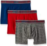 Lucky Brand Men's Standard 3 Pack Stretch Boxer Briefs