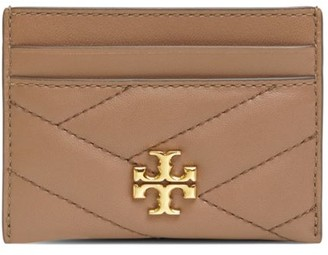 Tory Burch Kira Chevron Leather Card Case