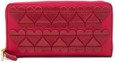 Marc Jacobs Stitched Heats Standard Continental Wallet