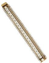 Elizabeth Cole Multistrand Link Bracelet