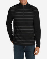Eddie Bauer Men's Long-Sleeve Sidecut 1/4-Zip Sweater
