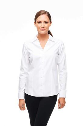 Foxcroft Women's Petite Lauren Non-Iron Shirt