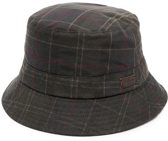Barbour Tartan-Print Bucket Hat