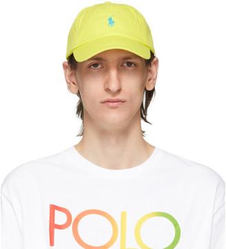 Polo Ralph Lauren Green Chino Ball Cap