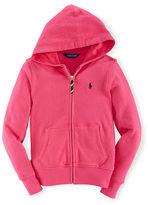 Ralph Lauren Girls 7-16 Ultra Cozy Hoodie