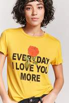Forever 21 I Love You More Graphic Tee