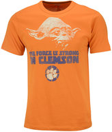 Tailgate Clothing Men's Clemson Tigers Yoda Force is Strong T-Shirt