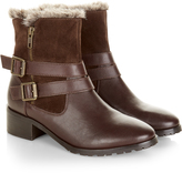Monsoon Hailey Fur Lined Buckle Boot
