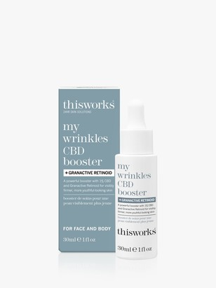 thisworks® This Works My Wrinkles CBD Booster Granactive Retinoid, 30ml
