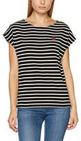 People Tree Peopletree Women's Stripe Apple Tee T-Shirt