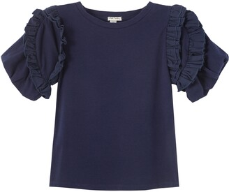 Habitual Kids' Delilah Ruffle Sleeve T-Shirt
