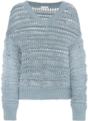 Brunello Cucinelli Exclusive to Mytheresa a Cotton sweater