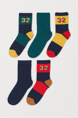 H&M 5-pack Socks - Yellow