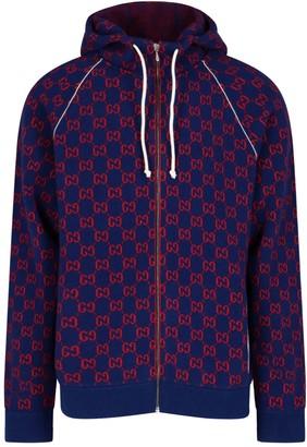 Gucci GG Knit Bomber Jacket