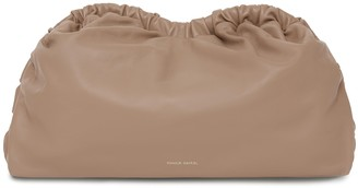 Mansur Gavriel Cloud Clutch - Biscotto