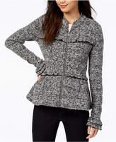 Maison Jules Ruffled Peplum Jacket, Created for Macy's