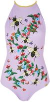 Jaded London **Bee High Neck Swimsuit