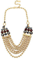 Kenneth Cole New York Mixed Faceted Stone Multi-Strand Necklace