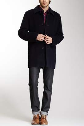 Cole Haan Italian Wool Blend Overcoat