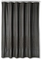 Threshold Shower Curtain - Hot Coffee Embroidery