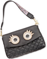 Betsey Johnson xox Trolls Convertible Clutch with Eyes, Only at Macy's