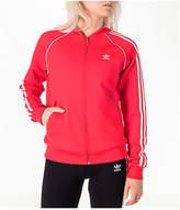 adidas Women's Originals Superstar Track Jacket, Red