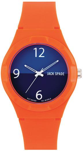 Jack Spade 'Graphic - Halftime' Watch, 40mm Orange One Size