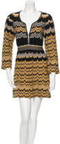 Missoni Chevron Belted Dress
