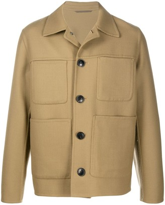 Ami Chest Pockets Shirt Jacket