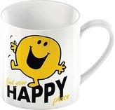 Mr Men Creative Tops Mr. Happy Fine China Mug, Multi-Colour
