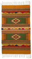 Novica Handcrafted Wool 'Golden Meadows' Zapotec Rug 2x3.5 (Mexico)