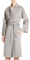 Armani Collezioni Women's Double Face Cashmere Wrap Coat