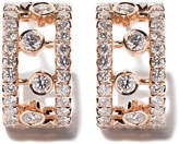 De Beers 18kt rose gold Dewdrop diamond earrings