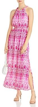 Aqua Batik High Neck Dress - 100% Exclusive