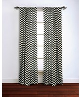 Nobrand No Brand Chevron Curtain Panel 100% Cotton